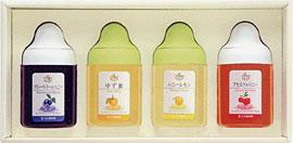 LA4P【果汁蜜】300g×4本セット(ブルーベリー、ゆず蜜、レモン、アセロラ)セット【2sp_120314_b】