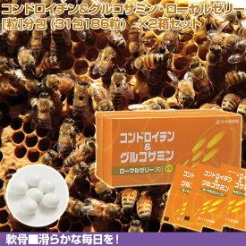 コンドロイチン&グルコサミン・ローヤルゼリー [粒]分包 (31包186粒) ×2箱セット | はちみつ 蜂蜜 ハチミツ お歳暮 お歳暮ギフト 贈答用 退職 お礼 退職祝い 忘年会 新年会 贈答品