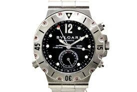 【中古】 BVLGARI ブルガリ スクーバ GMT メンズ腕時計 SD38SGMT 自動巻