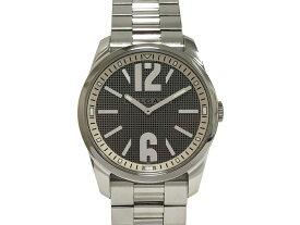 【中古】ブルガリ BVLGARI ソロテンポ ST42S SS ステンレス クォーツ 電池式 シルバーグレーメッシュ文字盤 腕時計 ウォッチ ブランドウォッチ 人気 メンズ 男性