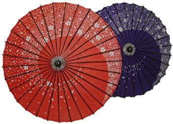 日傘 桜うずまき【あす楽対応】