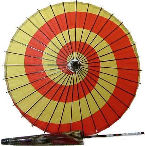 日傘(上)うずまき大【あす楽対応】難有り特価