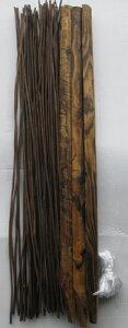 【送料無料】園芸 支柱キット(高さ約88cmまで用約細50本半丸焼杭3本)