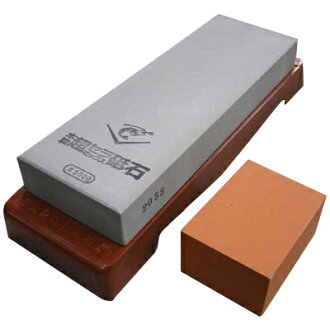 浪速虾纪念瓷研磨石 SS5000 (中砥,整理和锐化石头、 刀和剪刀,抛光,阿拉) P27Mar15
