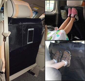 キックガードシートバックポケットキックカバーキックマット後部座席収納ポケットドライブポケット小物入れ車収納シートカバーカー用品ER-KCGD