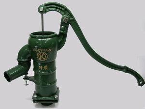 井戸 手押しポンプ 打込式 配管 接続用 人力 ガーデンポンプ ガチャコン ポンプ 鋳物製 3寸2分 32A