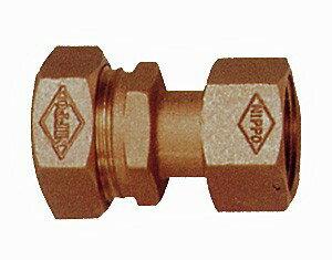 水道用1種用 ポリエチレン管金属継手 メーター用ソケット NPJ-M 20