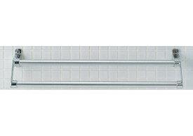 LIXIL、INAX タオルハンガー、スタンダードシリーズ 2段式タオル掛け(横幅600ミリタイプ)KF-12WS