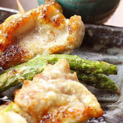 アスパラ焼き(3本入)[千葉県産鶏肉国産調理済み]【焼き鳥やきとり焼鳥焼き鳥】
