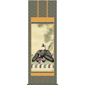 掛軸 三幸 天神第2集 天神様 尺八 正絹 T2C4-053 小野 洋舟 154791181