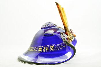 粋工房ガラスの武将兜縁起物端午の節句