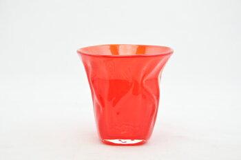 粋工房/沖ノ島朱(あか/)宗像びーどろ/タンブラー/日本酒/酒