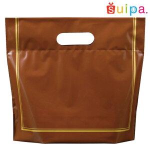 ■【おしゃれな手提げ袋】LDギフトバッグ ブラウンS  10枚