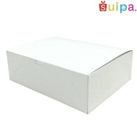 ■【日本製】ケーキ箱 洋生サービス箱(内寸270×210×85H) 5個【ケーキ プリン 箱 持ち運び ラッピング】