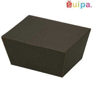 ■うす絹柄 BOX ブラック【内寸165×130(底面135×100)×76H(mm)】 5個