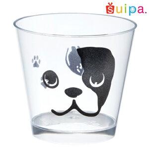 【日本製】PS76-185スタンダードカップフレンチブルドッグ25個【犬フレンチブルデザートカッププリンカッププリン型プラスチック容器カップ】