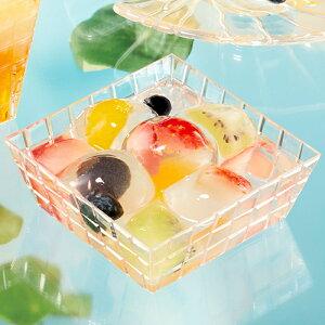 【日本製】PSシャインワイド30個【デザートカッププリンカッププラスチック容器カップ】【ガラスのような重厚感・高級感】【光を乱反射させ中身を瑞々しく引き立てます】