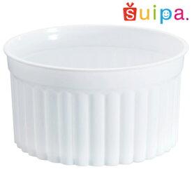 ■【送料無料】【耐熱】PP71-100 デザートカップ(マーブルカップ) B 白 200個【日本製】 【デザートカップ プリンカップ プリン型 プラスチック容器 カップ】