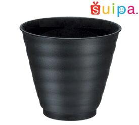 ■【送料無料】【耐熱】PP71-130 ひねり 黒 1,000個【日本製】【焼き物風プラスチック和カップ】※抹茶プリンレシピあります※