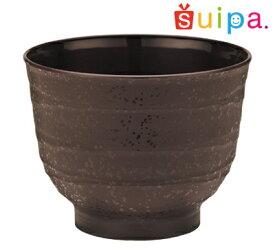 ■【送料無料】【耐熱】PP80-180 ひねり茶 1,000個【日本製】【焼き物風プラスチック和カップ】