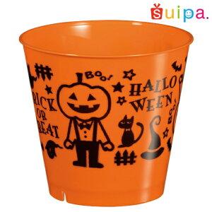 【耐熱】PP76-185スタンダードBオレンジジャックなボーイ25個【日本製】【デザートカッププリンカッププラスチック容器耐熱容器】【ハロウィン】