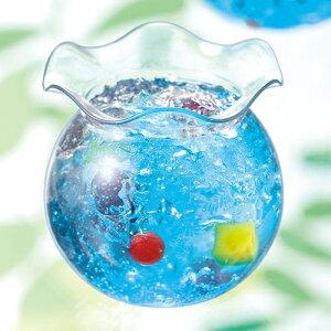 A-PETブロー65-120フルールポット7個【日本製】【デザートカッププリンカッププラスチック容器カップ】【金魚鉢形状】