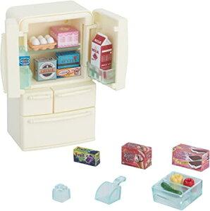 送料無料 シルバニアファミリー 家具 冷蔵庫セット(5ドア) カ-422