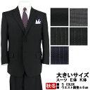 大きいサイズ スーツ E体 K体 アジャスター メンズスーツ ビジネススーツ 【秋冬】 5種から選べる ビッグサイズスーツ…