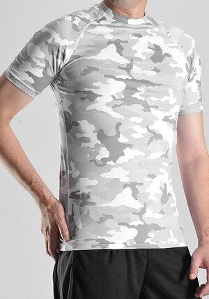 加圧シャツコンプレッション半袖メンズインナーウェアスポーツジムランニングトレーニング筋トレウォーキング伸縮性吸汗速乾丸首男性用