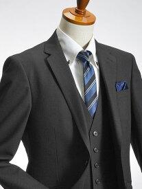 スリムスーツ スリーピース 2ツ釦 メンズ ビジネス 秋冬 洗えるパンツウォッシャブル プリーツ加工 スキニースラックス ジレベスト 3ピーススーツ 紳士 suit【送料無料】