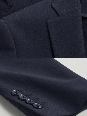 洗えるスーツ上下ウォッシャブルメンズ2ツボタンソロテックススリムスーツスリーシーズン対応洗えるパンツウォッシャブル【送料無料】