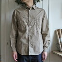 ENDS and MEANS Aldous Shirts エンズアンドミーンズ オルダス シャツ 17S/S