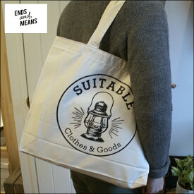 ENDS and MEANS & Suitable LANTERN TOTE BAG エンズアンドミーンズ & スータブル ランタン トートバッグ