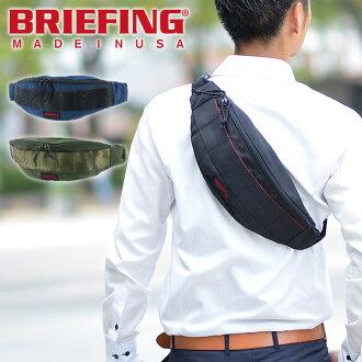 简报BRIEFING★正规的物品★腰包身体包[TRIPOD]BRF071219人礼物腰袋
