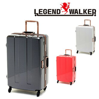 硬手提箱旅行袋子! 传奇传奇 · 沃克沃克 (71 L) 6703 64 男式女式大长期家庭旅行旅行 [动漫/漫画]