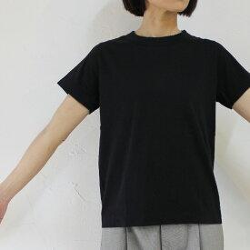 homspun ホームスパン 30/1天竺半袖Tシャツ ♯サラシ、ネイビー、ブラック 【クリックポスト発送可能】