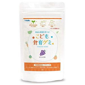幼児 栄養補助おやつ こども食育グミ 1袋 偏食 少食 野菜嫌い 植物性乳酸菌(お米由来K-2乳酸菌)216億 ビタミンD キシリトール 栄養機能食品