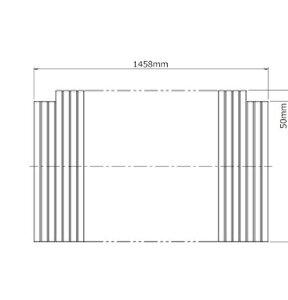ノーリツ(NORITZ) ふろふた(FB1680SFA-WH/SB) KGBSH02
