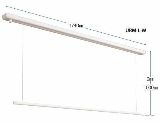 ホスクリーン URM型 URM-L-W 面付タイプ 川口技研