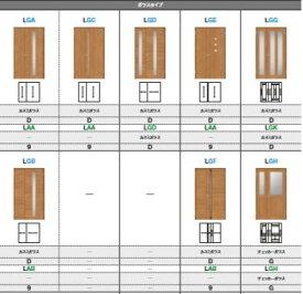ラシッサS 室内ドア 親子ドア 一般ドア ASTO-LGD ノンケーシング枠(固定枠) ガラスタイプ リクシル