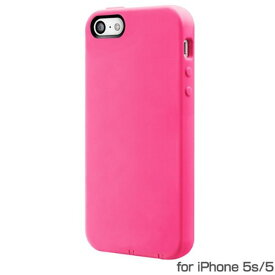 SwitchEasy iPhone SE 5s 5 (4インチ) ソフトケース NUMBERS Hot Pink ピンクSW-NRI5S-P