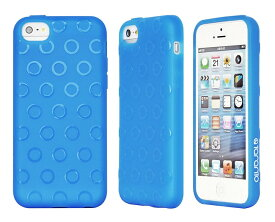 Taranto iPhone5C対応ケース Wave BLU ブルー ソフトタイプのTPU TR-A0551-BLU