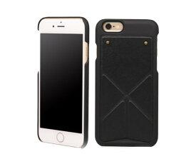 在庫処分品 n.max.n iPhone 6s、iPhone 6 (4.7インチ) Transformer スタンド ケース レザー (ブラック)