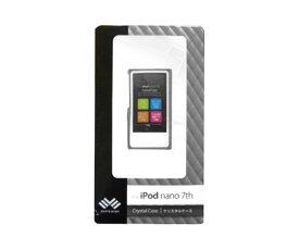 iPod nano 7th用 クリスタルケース 液晶保護フィルム付 ハードケース WEIPNA7CC (クリア) WHITE EVER(ホワイトエバー)