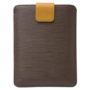 Kobo touch(kobo glo) レザーケース ポケットタイプ (ブラウン) スリーブケース ディスプレイ保護フィルム付属 baw&g