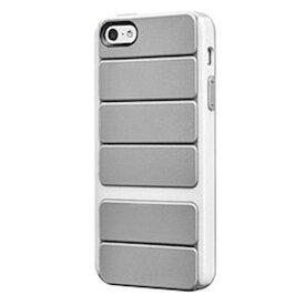 スマホケース カバー iPhone5 5s se SwitchEasy グレー ホワイト 灰色 白 ジャケット ポリカーボネート ラバー スクリーン保護フィルム マイクロファイバークロス スクリーンスクイージー(気泡除去カード) Odyssey Space Grey