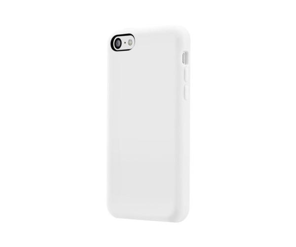 スマホケース カバー iPhone5c SwitchEasy ホワイト 白 ジャケット シリコン イヤホンジャック、コネクタプロテクター 2個(ケース同色) スクリーン保護フィルム マイクロファイバークロス Colors Milk ミルク SW-COL5C-W