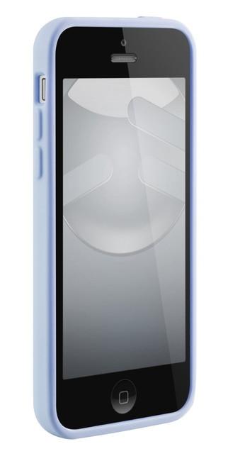 スマホケース カバー iPhone5c SwitchEasy ブルー ベイビーブルー 青 ジャケット シリコン スクリーン保護フィルム マイクロファイバークロス NUMBERS Baby Blue SW-NRI5C-BBL