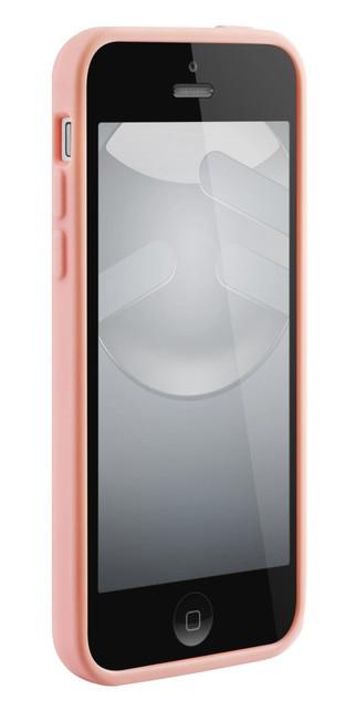 スマホケース カバー iPhone5c SwitchEasy ピンク ベイビーピンク ジャケット シリコン スクリーン保護フィルム マイクロファイバークロス NUMBERS Baby Pink SW-NRI5C-BP