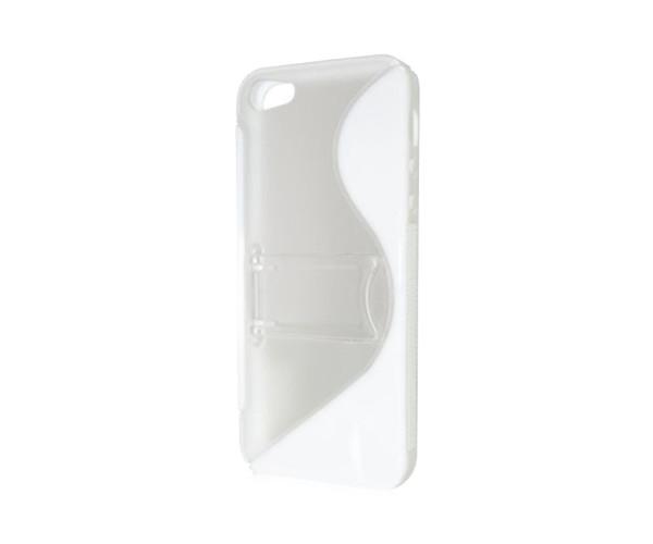 スマホケース カバー iPhone5 5s se Brighton ホワイト 白 ジャケット ポリカーボネート ハード 液晶保護フィルム Stand Case BI-IPVPCSTD/WH